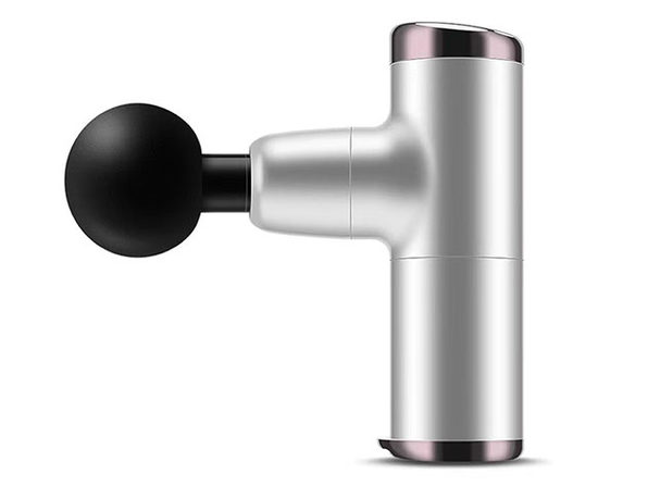 No More Sore Mini Muscle Toner Massage Gun (Silver)