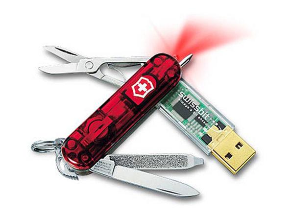 Utility Pocket Knife with 16GB USB Drive