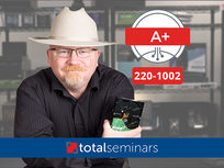 CompTIA A+ Core 2 (220-1002) Prep Course: Operating Systems & Security - Product Image