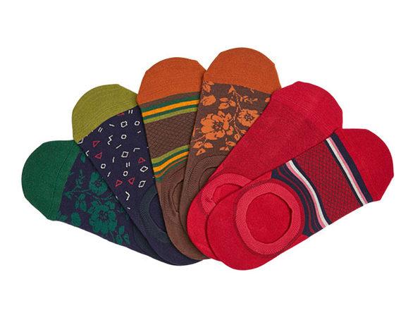 DeadSoxy No-Show Socks 6-Pack: Analyst 2 (Medium)