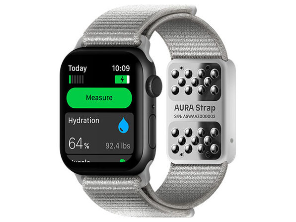 Aura Smart Strap for Apple Watch (Gray)