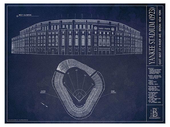 "Unframed Print 18""x24"": Old Yankee Stadium (1923), New York Yankees"