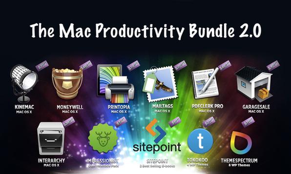 The Mac Productivity Bundle 2.0 - Product Image