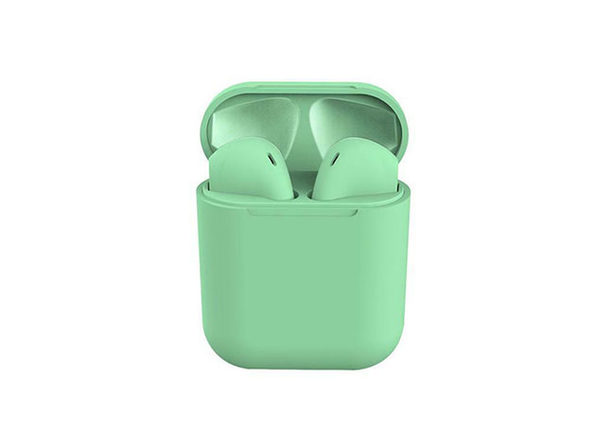 i12 TWS Wireless Bluetooth 5.0 Earphones (Green)