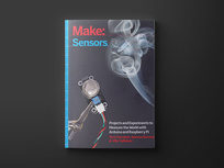 Make: Sensors 1st Edition - Product Image