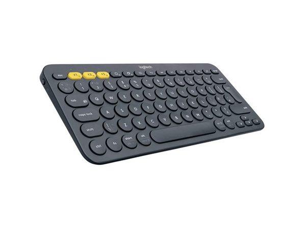Logitech K380 Multi-Device Bluetooth Keyboard - Black (Open Box)