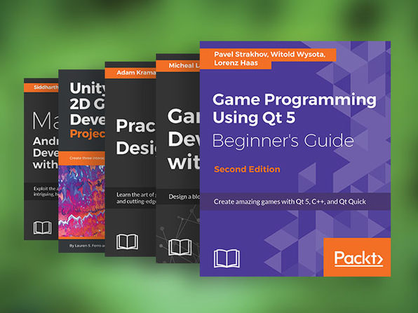 The Complete Game Developer eBook Bundle - Product Image
