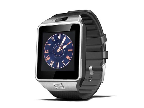 Bluetooth 3.0 Smart Watch with 2MP Camera & Pedometer - Black - Product Image