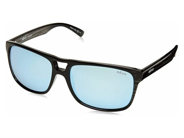 Revo Holsby RE 101901 BL Polarized Sunglasses Black Plastic Frames - Product Image