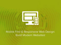 Mobile First & Responsive Web Design: Build Modern Websites! - Product Image