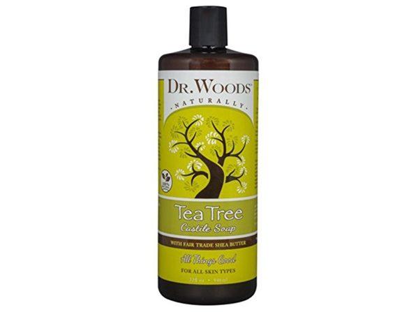 Dr. Woods Pure Tea Tree Liquid Castile Soap, 32 Ounce - Product Image