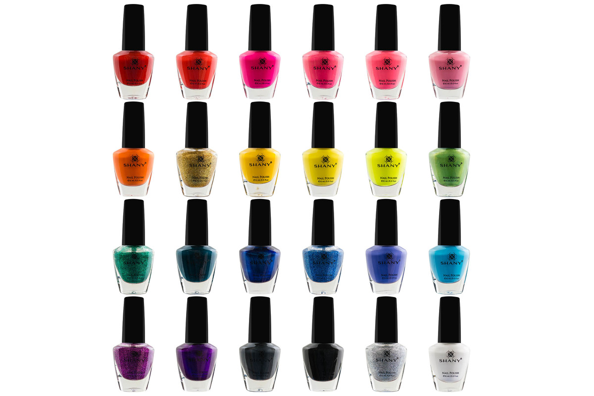 SHANY Cosmopolitan Nail Polish set – Pack of 24 Colors – Premium Quality & Quick Dry, now on sale for $34.95
