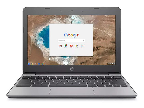 "HP Chromebook 11.6"" Intel Celeron 16GB - Gray (Certified Refurbished)"