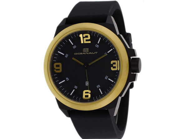 Oceanaut Men's Armada Black Dial Watch - OC7114