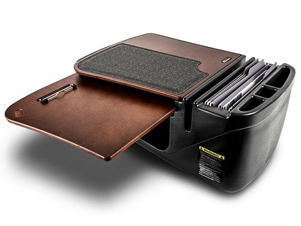 GripMaster Car Desk & Organizer (Mahogany)
