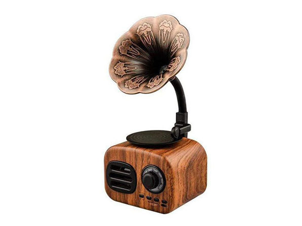 Retro Phonograph Bluetooth Speaker - Product Image