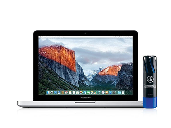 "Apple MacBook Pro 13.3"" 1TB Wi-Fi Silver (Certified Refurbished) + Hard Case & Cleaning Spray"