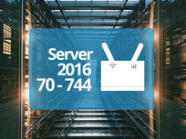 Microsoft 70-744: Securing Windows Server 2016 Exam Prep - Product Image