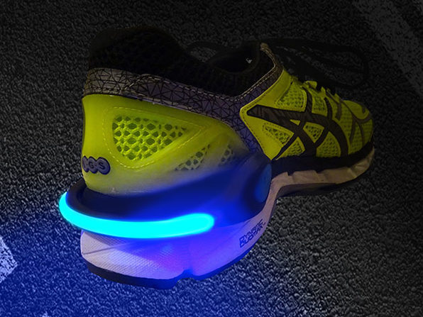 Schatzii FireFly Running & Biking Safety Lights - Blue - Product Image