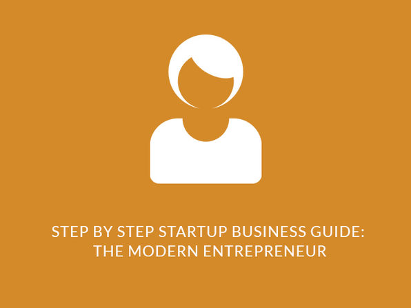 Step-by-Step Startup Business Guide: The Modern Entrepreneur - Product Image