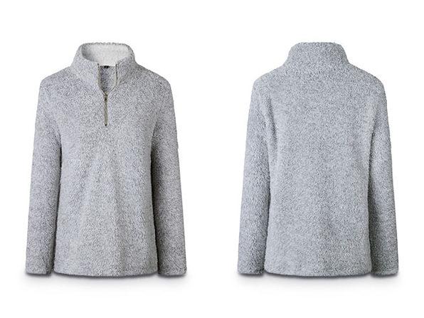 Half Zip Pullover (Grey)