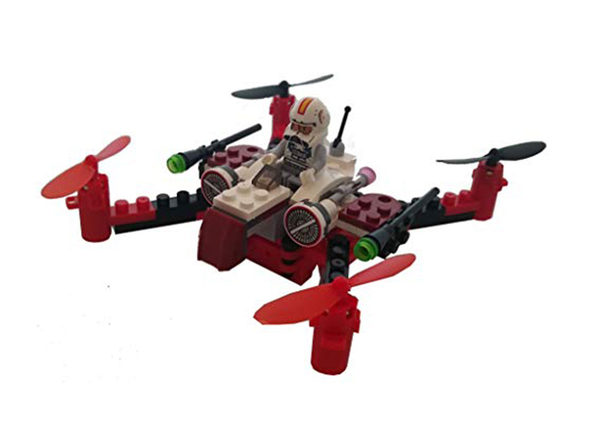Space Fighters Building Block Drone