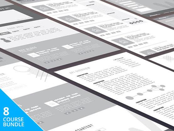 Complete UI & UX Design Master Class Course Bundle Discount