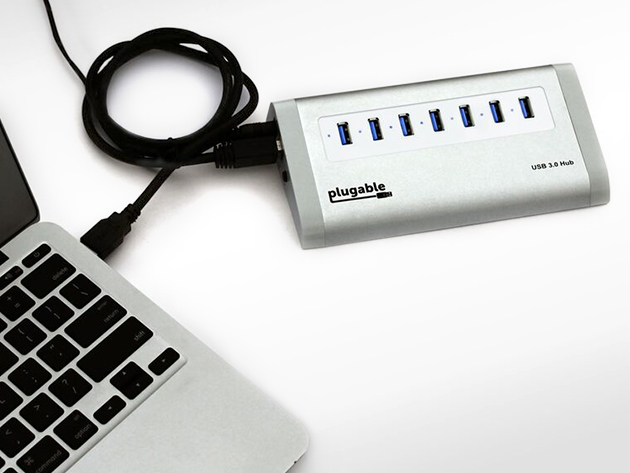 Plugable 7 port usb 3 0 superspeed hub idownloadblog deals - Plugable 7 port usb 3 0 superspeed hub ...