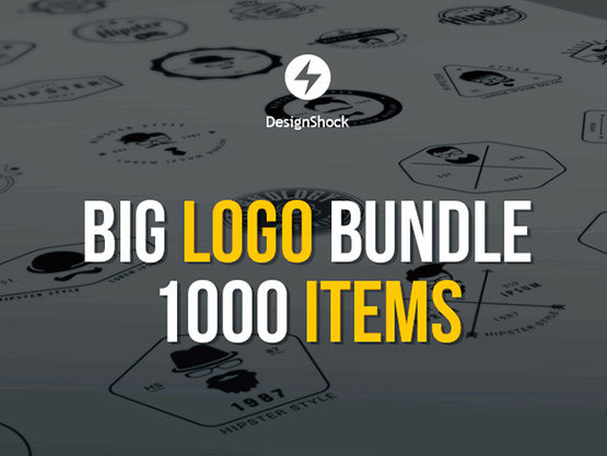 DesignShock Stock Logo Templates Bundle Discount