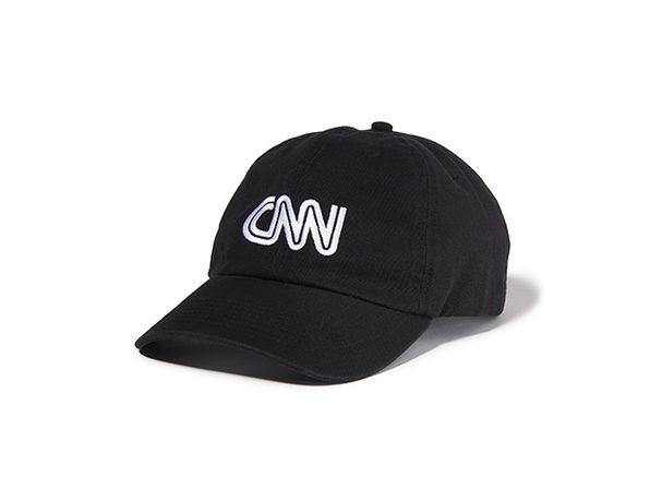 CNN Basic Logo Cap  Black
