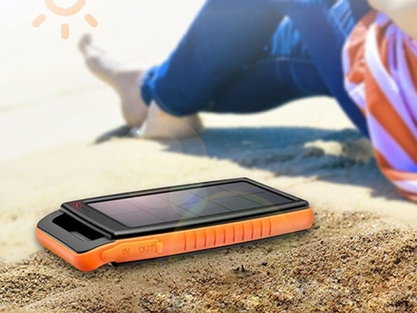 RAVPower 15,000mAh Portable Solar Power Bank