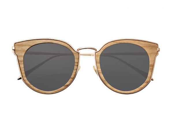 Earth Wood Karekare Sunglasses (Khaki Wood)