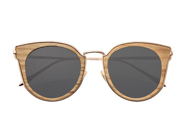 Earth Wood Karekare Sunglasses (Khaki Wood)