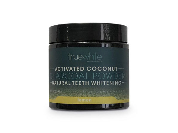 truewhite Teeth Whitening Charcoal Powder, Lemon Flavor, 2 oz