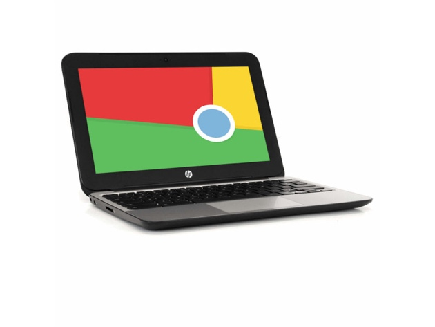 HP Chromebook V2W30UT 11″ Laptop, 2.16GHz Intel Celeron, 2GB RAM, 16GB SSD, Chrome (Renewed), on sale for $188.09 (37% off)