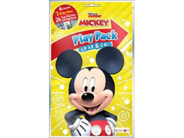 Party Favors - Mickey Mouse - Grab and Go Play Pack - 1ct - Product Image