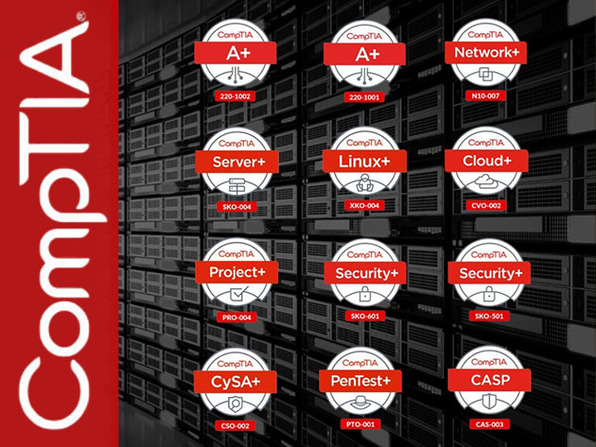 The Complete 2021 CompTIA Certification Training Bundle