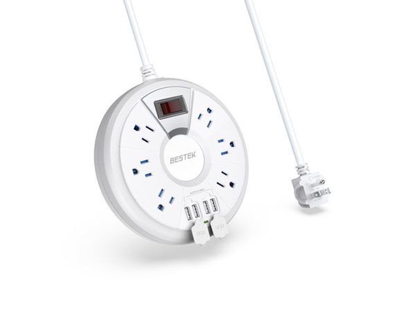 BESTEK 6-Outlet Power Strip