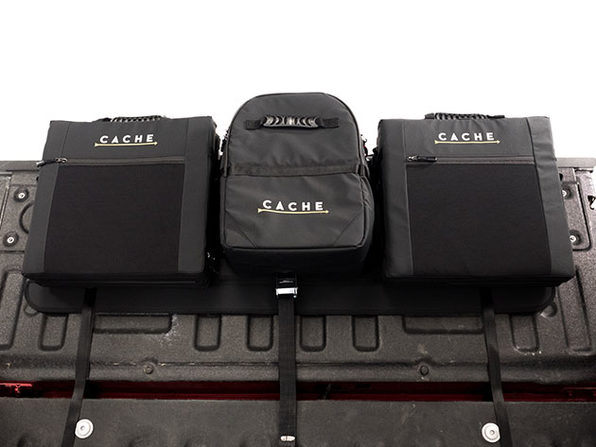 The Basecamp System: Tailgate Pad + Seats + Cooler