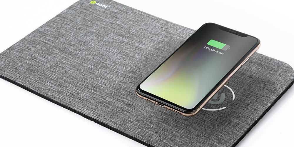 NumiPower Mat: Wireless Charging Mouse Pad, on sale for $32.99 (17% off)