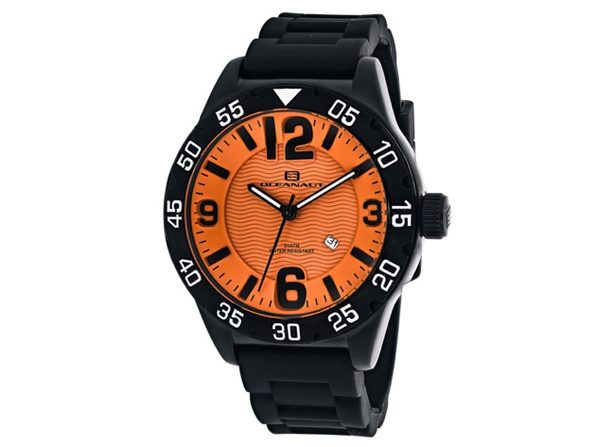 Oceanaut Men's Orange Dial Watch - OC2712