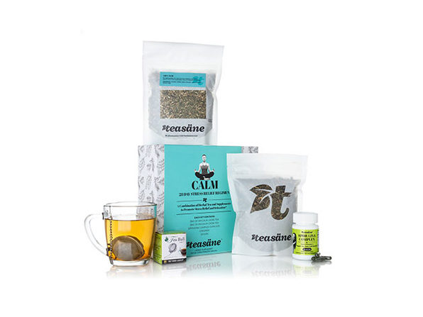 4-Piece Calm Kit - 28-Day Stress Relief Regimen - Product Image