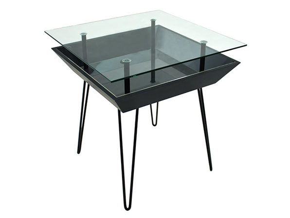 BloomingTables Side Table (Matte Black)