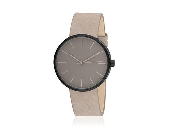 Sleek Minimalist Watch (Grey/Black) - Product Image