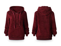 Plush Pullover Hoodie, Extra Large - Product Image