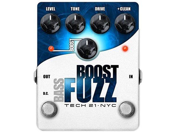 Tech21 Bass Boost Fuzz, Distortion, Dirt, Grit, Grind, Metallic Effects Pedal (Like New, Damaged Retail Box)