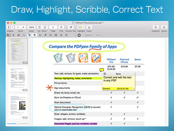 PDFpen 7: All-Purpose PDF Editor for Mac | StackSocial