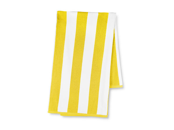 Anatalya Classic Resort Beach Towel (Yellow)