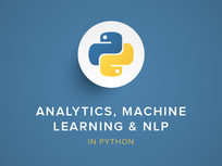 Analytics, Machine Learning & NLP in Python - Product Image