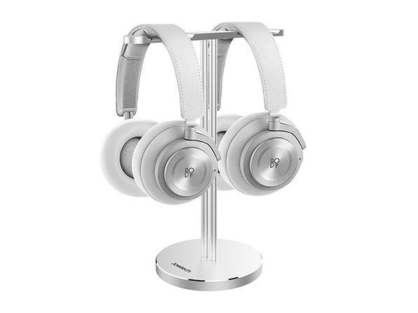 Jokitech Aluminum Universal Dual Headset Stand (Silver)
